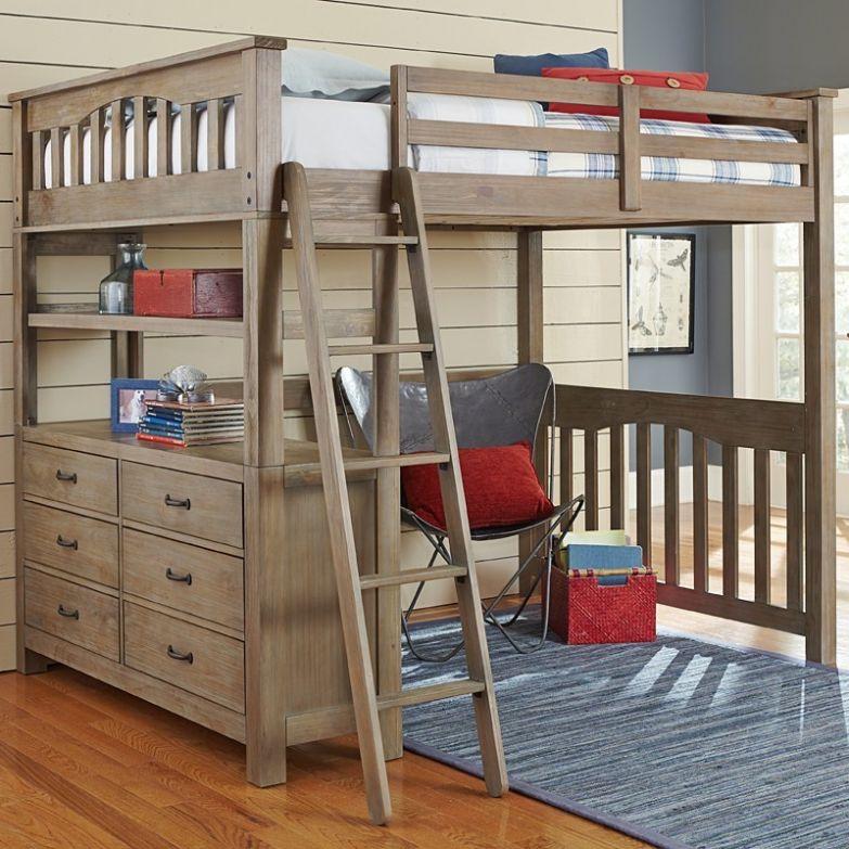 Детям лофт-кровати тоже отлично подходят двухъярусная кровать, дизайн, идеи, маленькая квартира