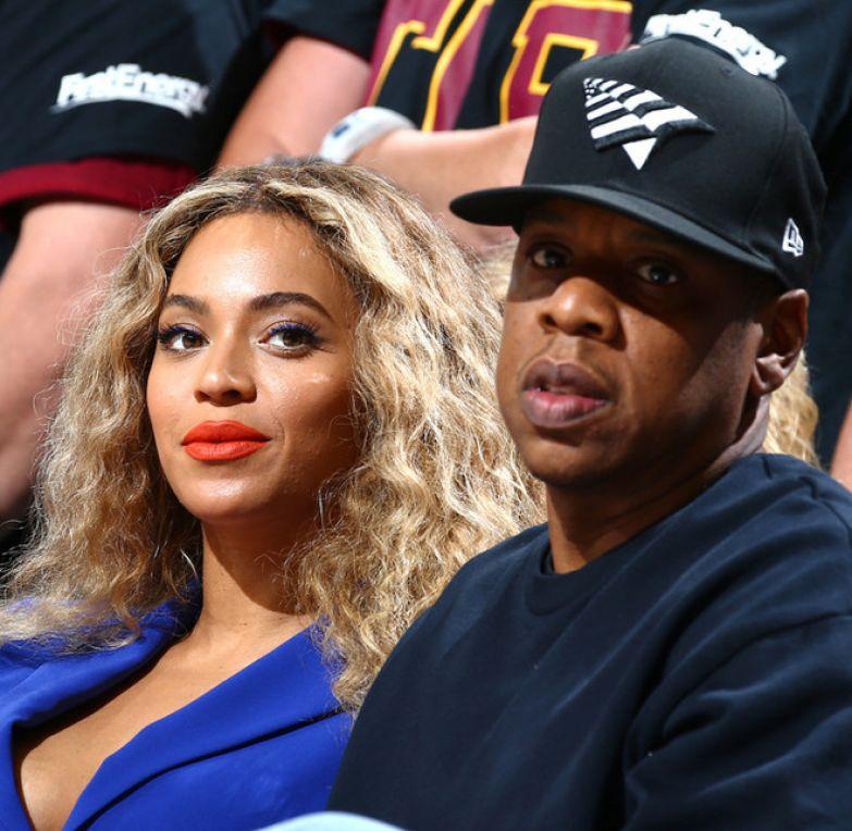 Бейонсе и ее супруг Jay-Z