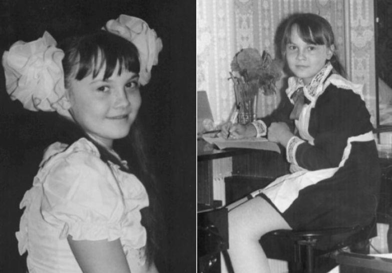 Татьяна Снежина в детстве   Фото: snezhina.ru