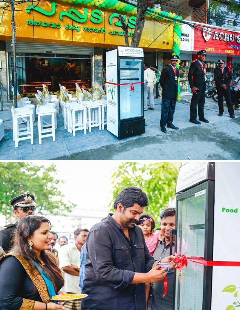 41. Индийский ресторан установил холодильник с бесплатной едой доброта, мир, поступок