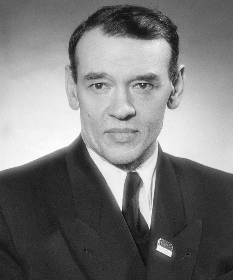 Федор Углов в 1955 году. ФОТО Батанов А., Портер Лев/Фотохроника ТАСС