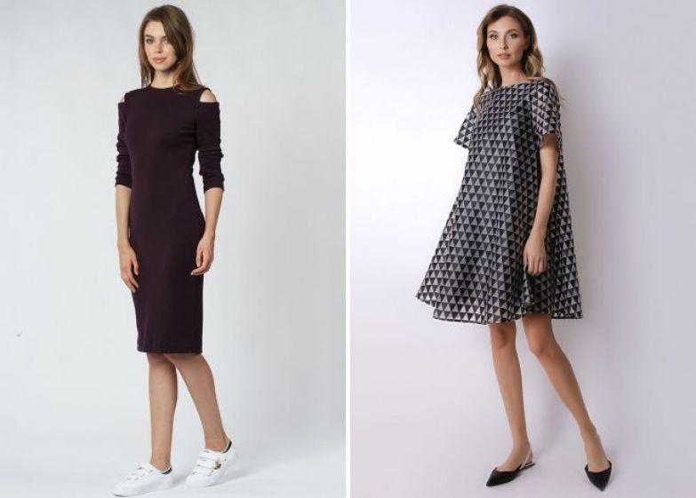 повседневные платья 2018