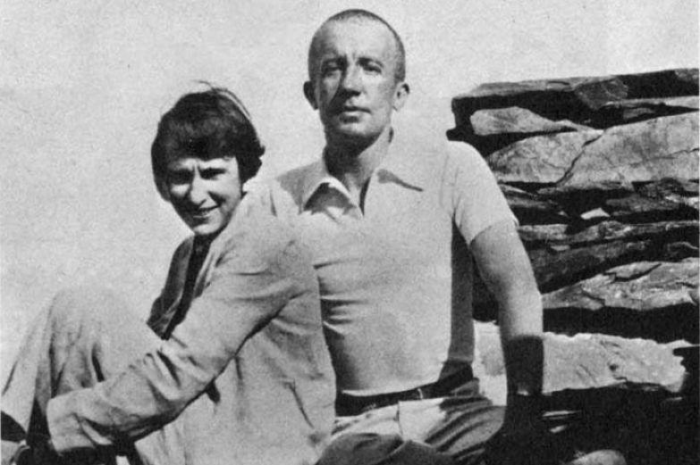 Елена Дьяконова Гала и Поль Элюар. / Фото: www.twimg.com