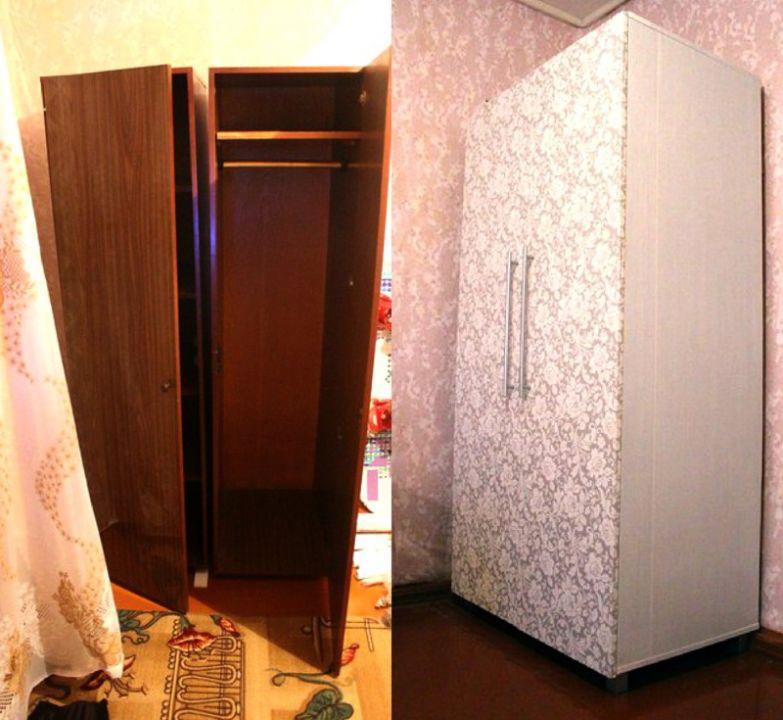 Обновление старых шкафов своими