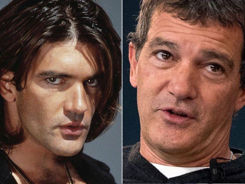 Антонио Бандерас, 55 лет актеры, возраст, звезды, секс-символы, тогда и сейчас