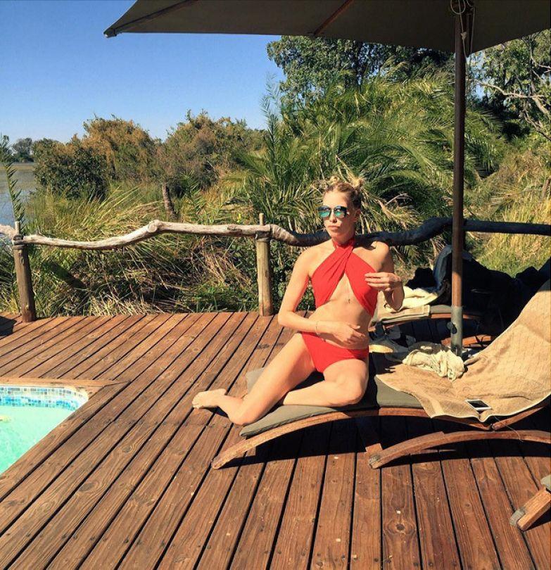 Елена Перминова в Африке