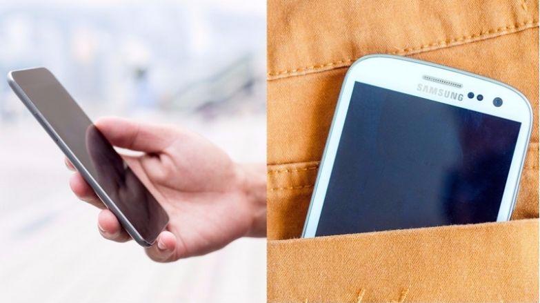 телефон в кармане