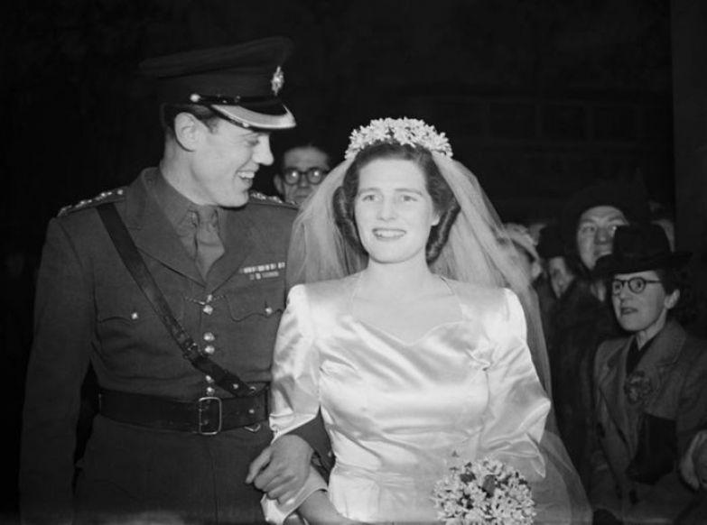Кристофер Соумс и Мэри Черчилль. / Фото: www.gettyimages.com