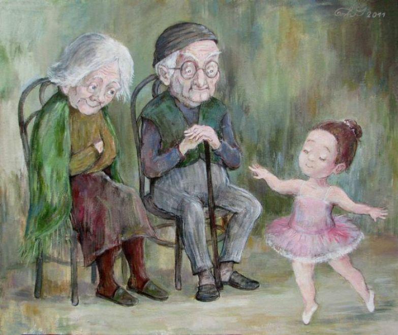 Бесценные минуты... Автор работ: Нино Чакветадзе (Nino Chakvetadze).