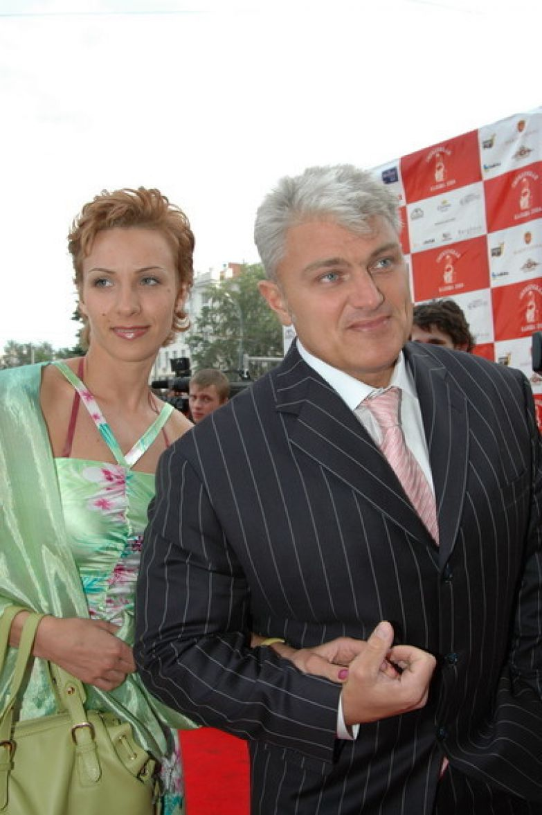 Владимир Турчинский с женой