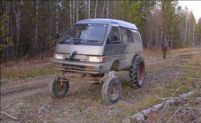 Подготовленный автомобиль - одна из самых важных вещей на охоте охота, прикол, юмор