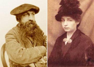 Слева – Огюст Роден. Справа – Камилла Клодель | Фото: rodin-web.org и peoples.ru