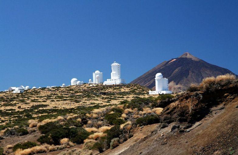 Телескопы обсерватории Тейде