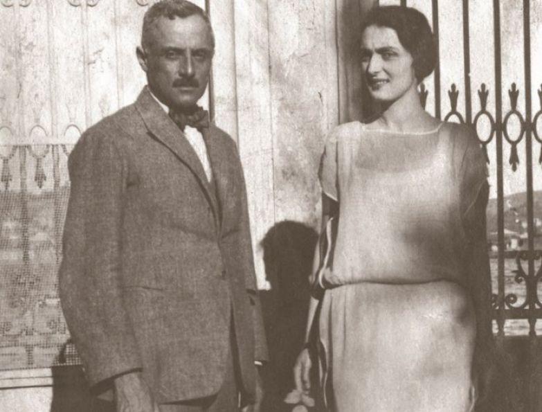 Княгиня Шервашидзе-Эристави с супругом   Фото: sputnik-georgia.ru