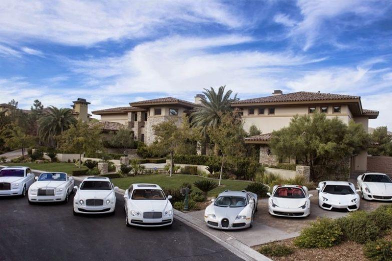 3. 9 млн долларов за дом в Лас-Вегасе миллионер, покупки, роскошь, спортсмен
