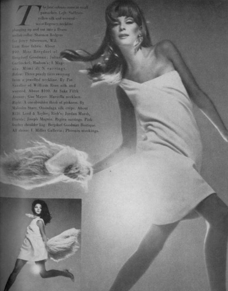 Нена на странице модного журнала. / Фото: ana-lee.livejournal.com