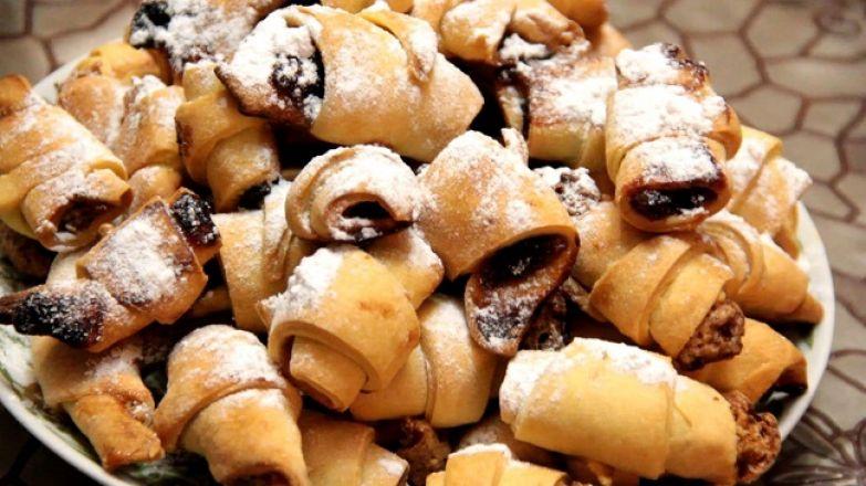 Секрет приготовления вкусных сладких рогаликов