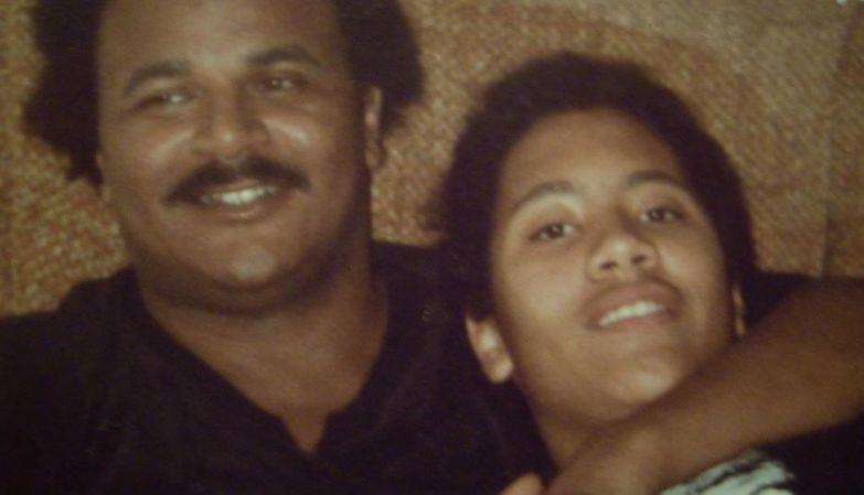 Дуэйн Джонсон с отцом
