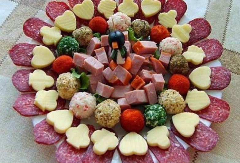 сырно-мясная нарезка