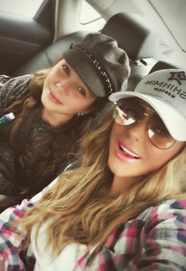 Юлия с дочкой Верой