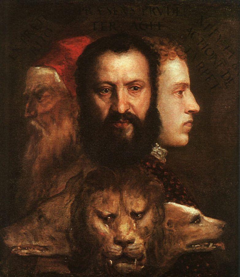 Тициан. Аллегория времени. Ок. 1565