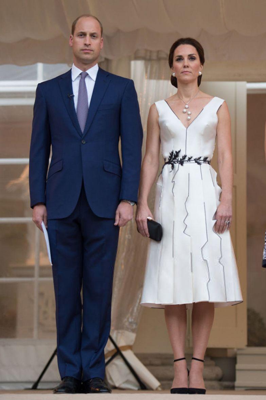 Кейт Миддлтон и принц Уильям, 2017