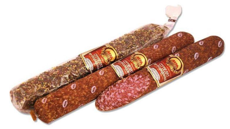 15. Сырокопченые колбасы еда, здоровье, опасность, продукты