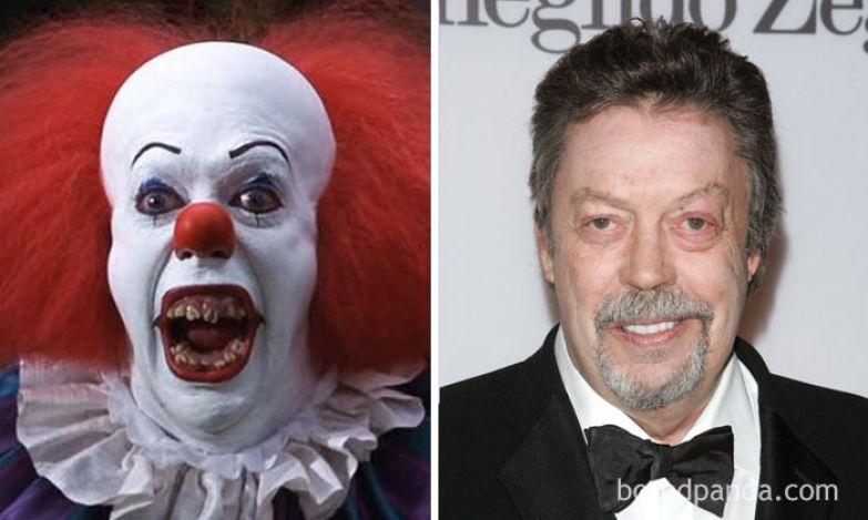 Клоун Пеннивайз - Тим Карри (Оно, 1990) актеры, монстры, ужастики