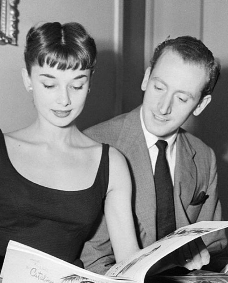 Одри Хепбёрн и Джеймс Хэнсон. / Фото: www.pinimg.com