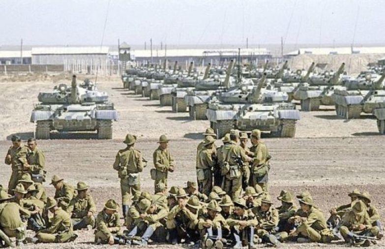 25 декабря 1979 года начался ввод советских войск в Афганистан. история, события, фото