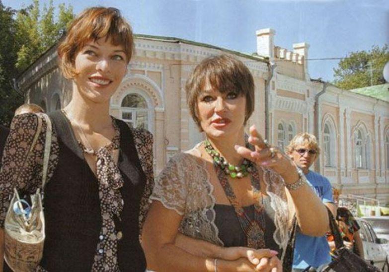 Милла Йовович и Галина Логинова | Фото: myhistori.ru