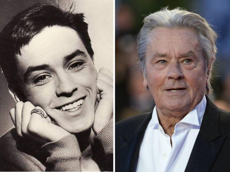 Ален Делон, 80 лет актеры, возраст, звезды, секс-символы, тогда и сейчас