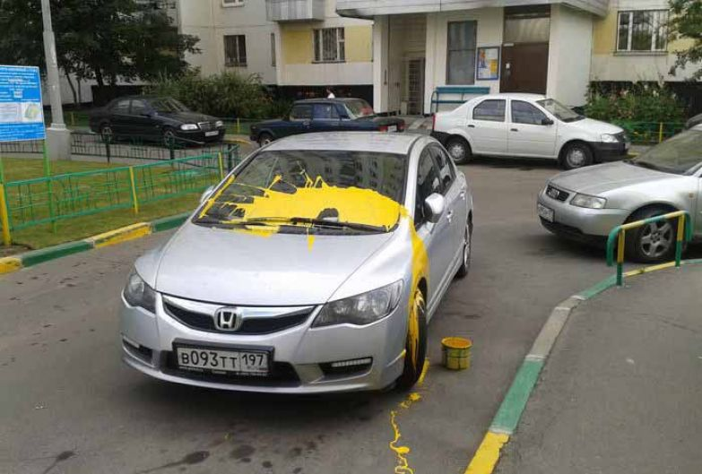 Неправильная парковка 5
