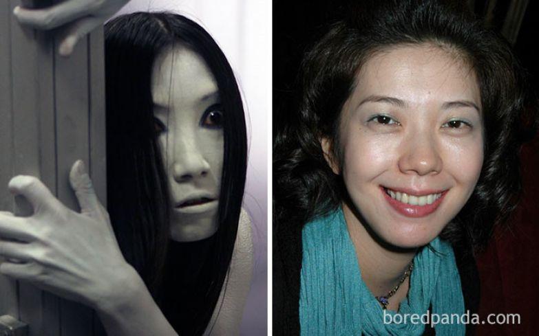 Каяко - Такако Фудзи (Проклятие, 2004) актеры, монстры, ужастики