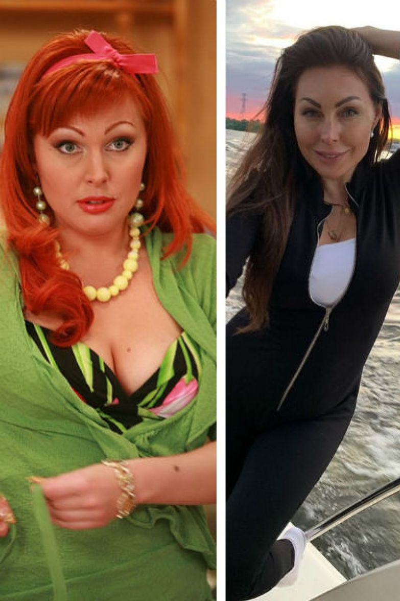 Наталья на ранних сроках беременности и после похудения