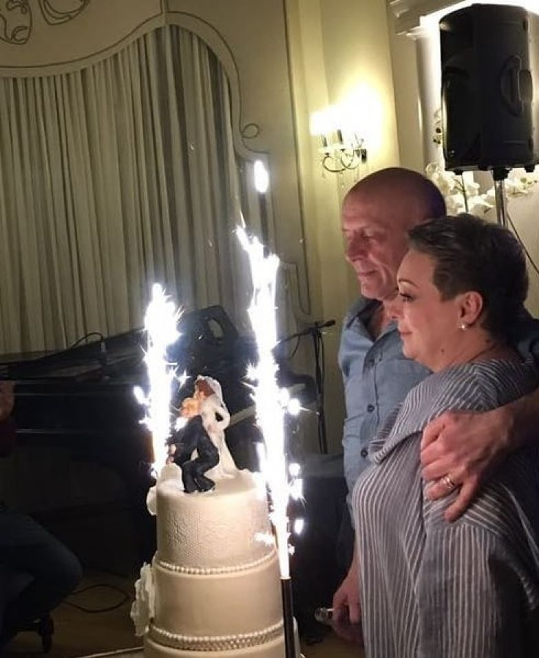 Актриса вышла замуж в свой день рождения