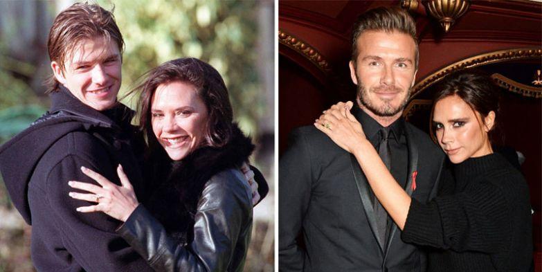 Виктория Бэкхем и Дэвид Бэкхем - 19 лет вместе голливуд, звезды, любовь, свадьбы, семьи