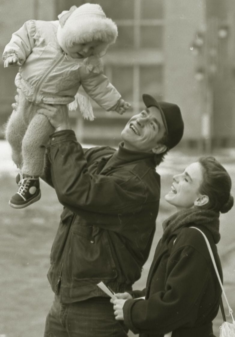 Последние кадры счастливой семьи Екатерины Гордеевой и Сергея Гринькова