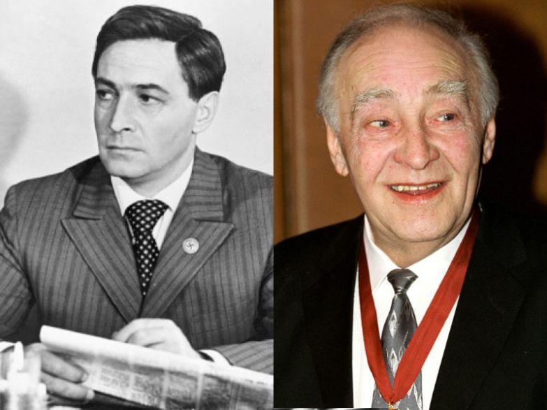 Вячеслав Тихонов, 81 год актеры, возраст, звезды, секс-символы, тогда и сейчас