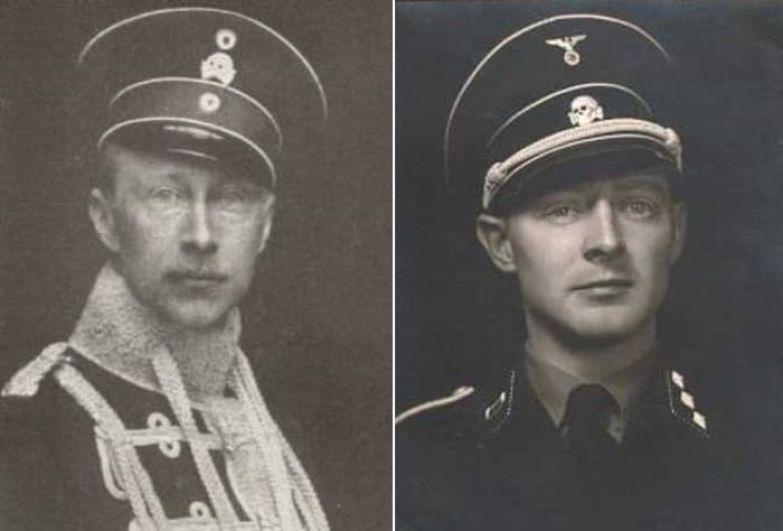 На создание эсэсовской униформы Дибича вдохновила форма прусских *Гусар смерти* | Фото: frontovik.org