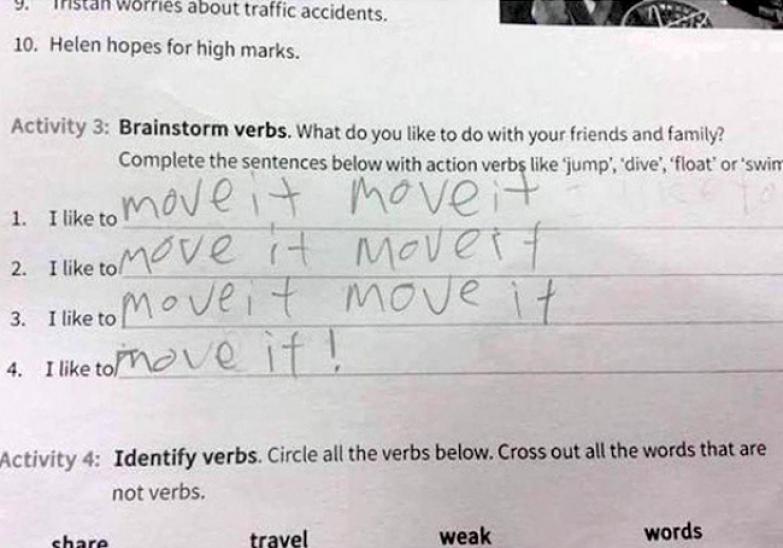Современно, и не поспоришь дети, уроки, школа, юмор