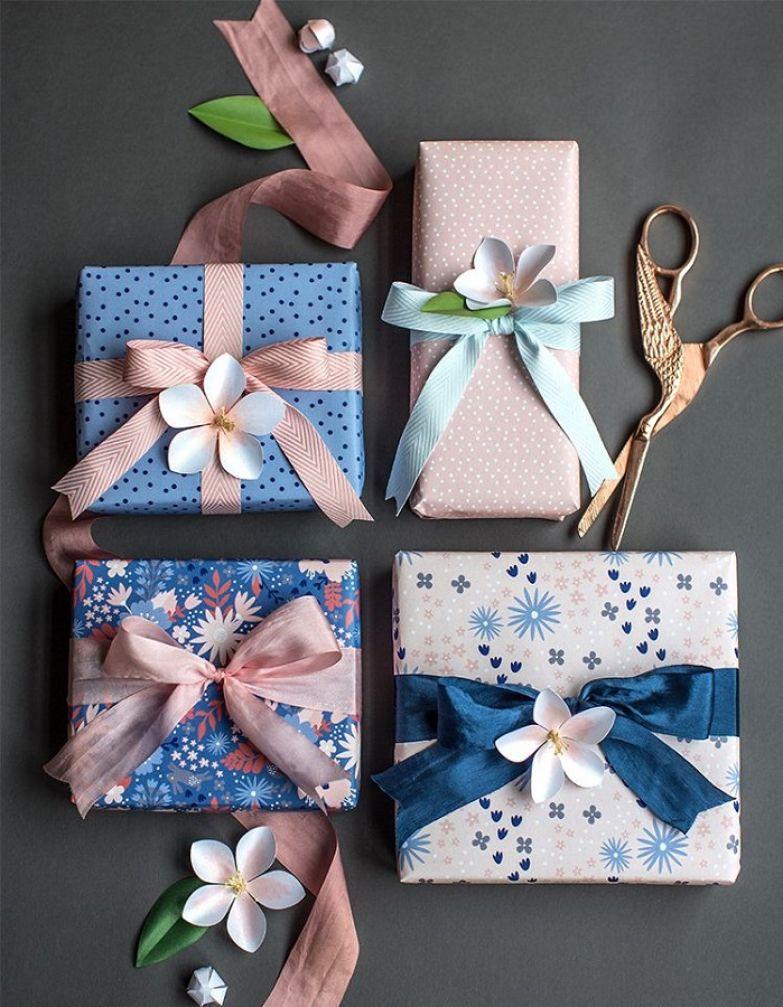 красивая упаковка подарка своими руками