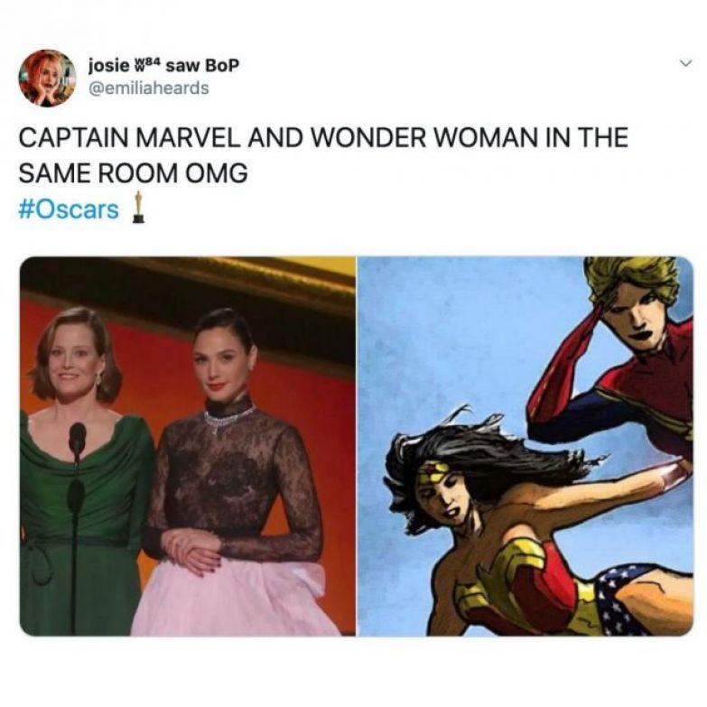 Забавные мемы на 'Оскар 2020', которые сделают твой день - фото 467150