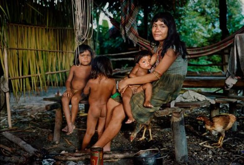 Скрытая камера в племенах индейцев как они трахаются — pic 5