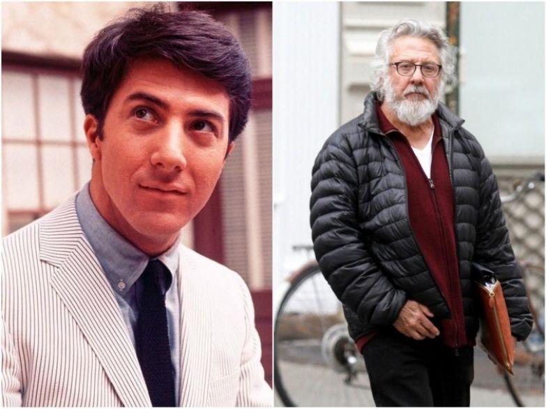 Дастин Хоффман, 78 лет актеры, возраст, звезды, секс-символы, тогда и сейчас