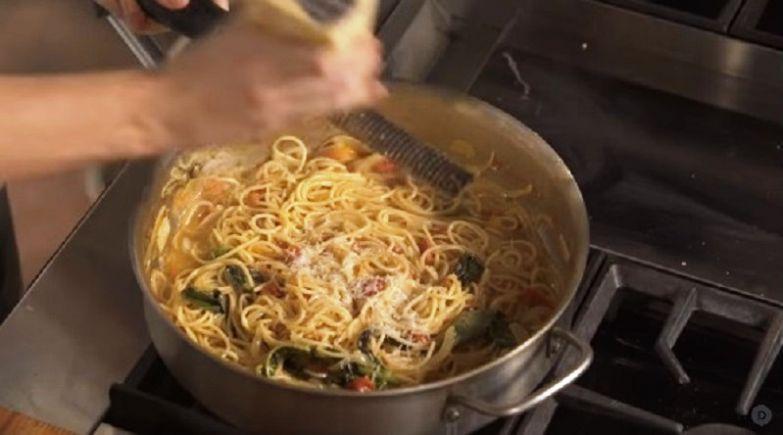итальянская паста с сыром