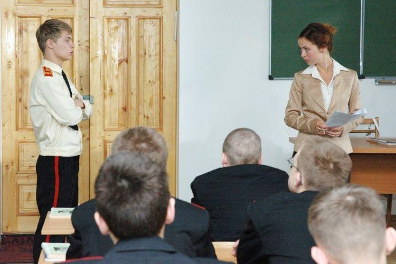 Зрителям полюбилась учительница этики из «Кадетства»