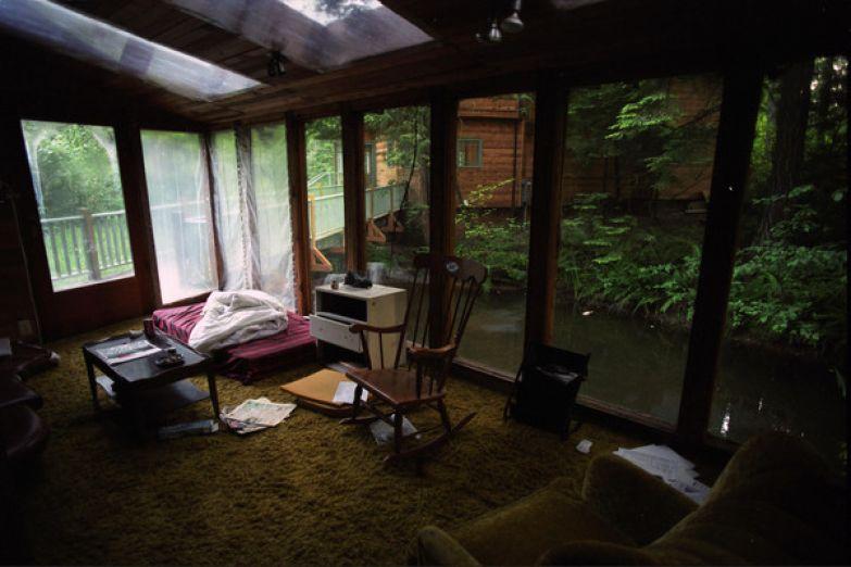 Дом в Сиэтле, в котором было найдено тело Кобейна
