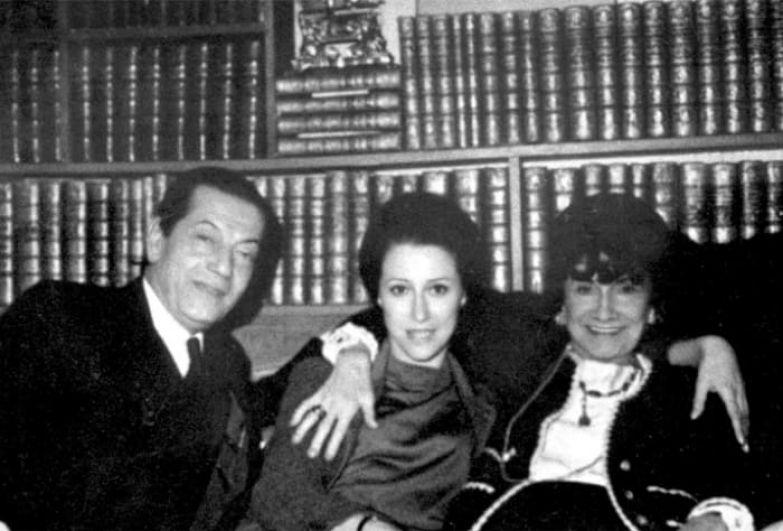 Серж Лифарь, Майя Плисецкая и Коко Шанель. Париж, 1962 | Фото: vivareit.ru