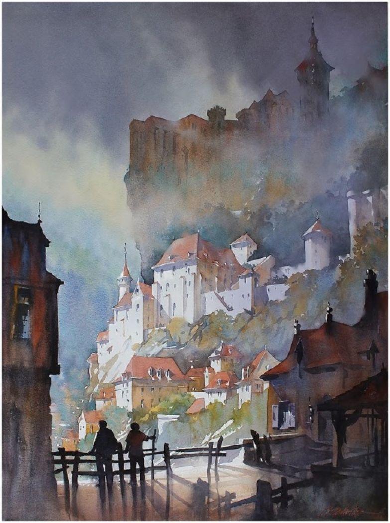 Башни Рокамандур. Автор: Thomas Schaller.